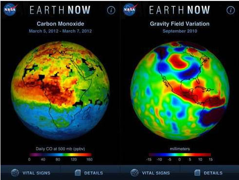 Visualize Climate Change Data with Free iPhone App from NASA - Treehugger