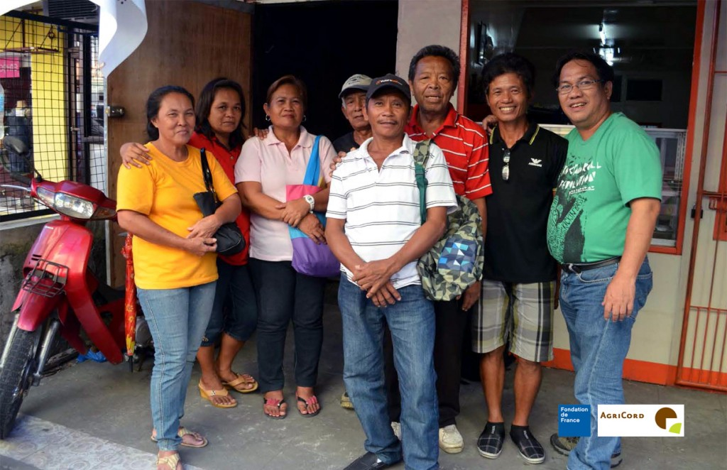 Members of the Board of KAMAO, Inc. with Asiadhrra's Cezar Belangel during the project start up planning workshop on May 13, 2014.
